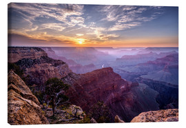 Lienzo  Sunset at Grand Canyon - Daniel Heine