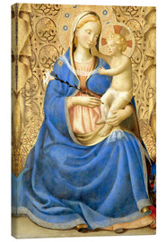 Lienzo  Madonna with Child - Fra Angelico