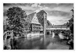 Póster NUREMBERG View to Hangman's Bridge