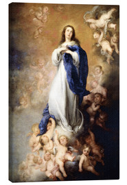 Lienzo  Immaculate Conception of Mary - Bartolome Esteban Murillo