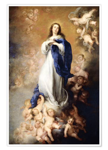 Póster Immaculate Conception of Mary