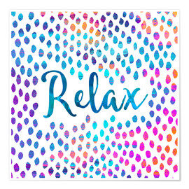 Póster Relax