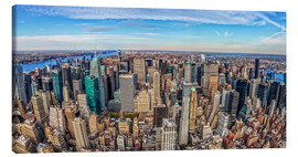 Lienzo  New York  Fisheye - Marcus Sielaff