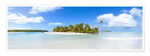 Póster One Foot Island, Cook Islands