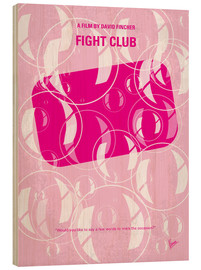 chungkong - No027 My Fight Club minimal movie poster
