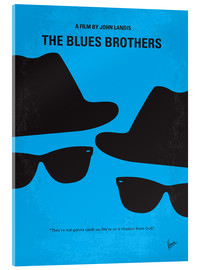 chungkong - No012 My Blues brothers minimal movie poster