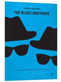 Cuadro de PVC  The Blues Brothers - chungkong