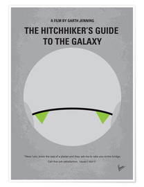 Póster Hitchhiker's Guide