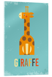 Metacrilato  Baby Giraffe for the nursery - Petit Griffin