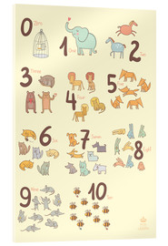 Metacrilato  Zoological numbers for nursery - Petit Griffin