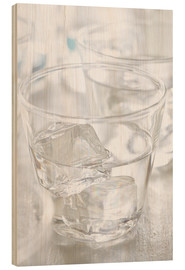 Cuadro de madera  Pure water - K&L Food Style