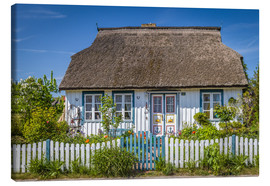 Lienzo  Thatched cottage on the Baltic Sea - Christian Müringer