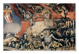 Póster  Last Judgement - Giotto di Bondone