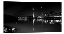 Metacrilato  Dusseldorf media harbor with Blutmond - rclassen