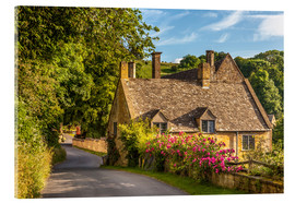 Cuadro de metacrilato  Cottage in the Cotswolds (England) - Christian Müringer