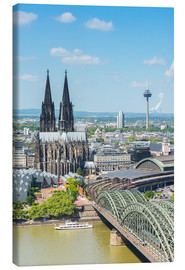 Lienzo  Cologne Cathedral (Cathedral of St. Peter) - rclassen