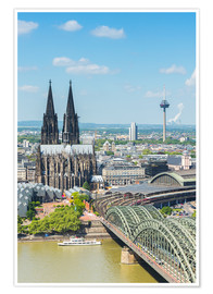 Póster Cologne Cathedral (Cathedral of St. Peter)