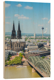 Cuadro de madera  Cologne Cathedral (Cathedral of St. Peter) - rclassen