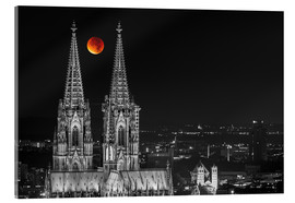 Metacrilato  Blood Red Moon Cologne Cathedral - rclassen