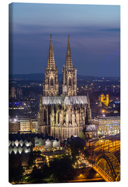 Lienzo  cathedral of cologne - rclassen