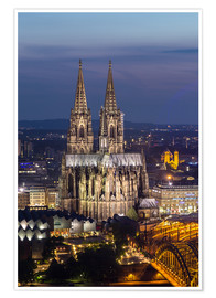 Póster  cathedral of cologne - rclassen