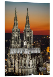 Cuadro de PVC  cathedral of cologne - rclassen