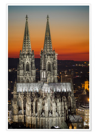 Póster cathedral of cologne