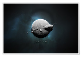 Póster Solar System Ceres