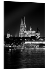 Metacrilato  Cologne Cathedral at night - rclassen
