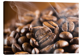 Lienzo  fresh roasted coffee beans - rclassen