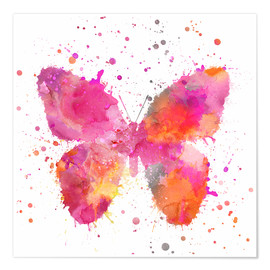 Póster  Artsy Butterfly - Andrea Haase