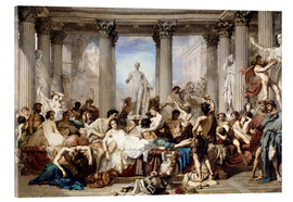 Metacrilato  Roman decadence - Thomas Couture
