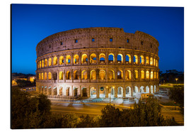 Cuadro de aluminio  Colosseum in Rome at night - Jan Christopher Becke