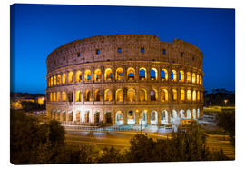 Lienzo  Colosseum in Rome at night - Jan Christopher Becke