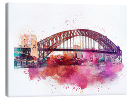Lienzo  Sydney Harbor Bridge - Andrea Haase