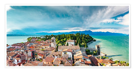 Póster  Sirmione in Italy, with Lake Garda - Sascha Kilmer