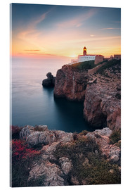 Metacrilato  At the end of the world (Cabo de São Vicente / Algarve / Portugal) - Dirk Wiemer