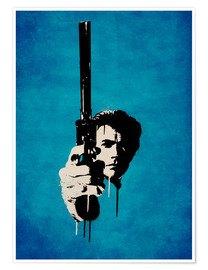 Póster Clint Eastwood - Harry sucio