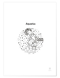 Póster  Aquarius boy - Petit Griffin