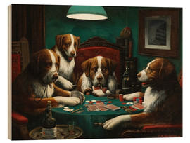 Madera  The poker game - Cassius Marcellus Coolidge