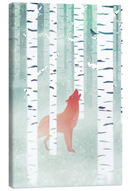 Lienzo  winter fox - Sybille Sterk