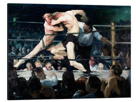 Aluminio-Dibond  Stag at Sharkey's - George Wesley Bellows