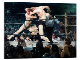 Cuadro de PVC  Stag at Sharkey's - George Wesley Bellows