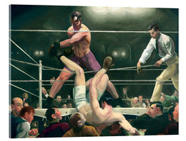 Metacrilato  Dempsey and Firpo - George Wesley Bellows