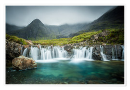 Póster  The Fairy Pools, Glen Brittle, Skye, Scotland - Markus Ulrich