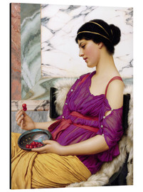 Cuadro de aluminio  Ismenia - John William Godward