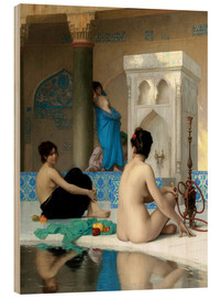 Madera  After the bath - Jean Leon Gerome