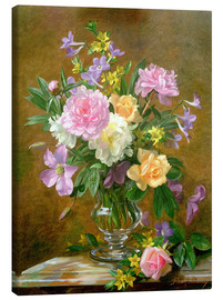Lienzo  Vase of Flowers - Albert Williams