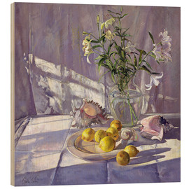 Madera  Still Life Flowers and Lemons - Timothy Easton