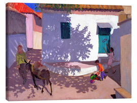 Lienzo  Green Door and Shadows, Lesbos, 1996 - Andrew Macara